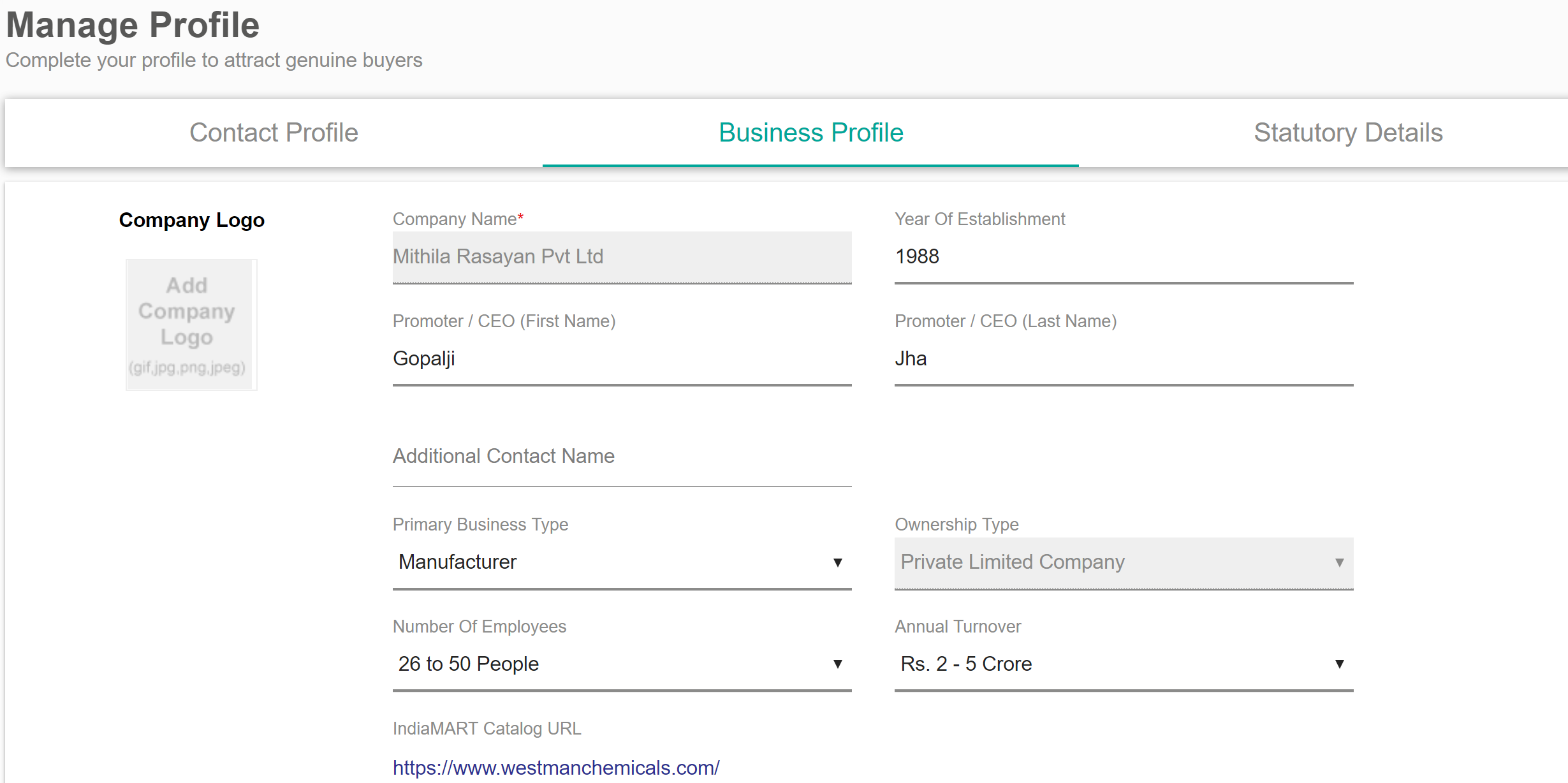 What is a Business Profile? – Indiamart Helpdesk